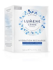 Нічний зволожуючий крем - Lumene Lahde Hydration Recharge Overnight Cream