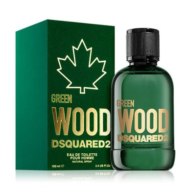 Dsquared2 Green Wood Pour Homme - Туалетная вода 100ml (Оригинал)