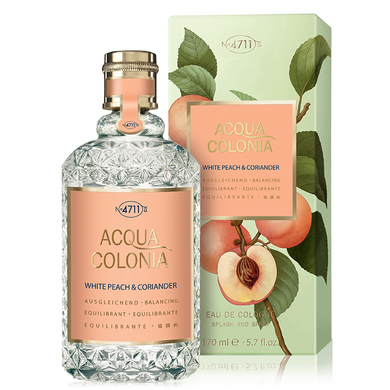 4711 Acqua Colonia White Peach & Coriander - Одеколон 50ml (Оригинал)
